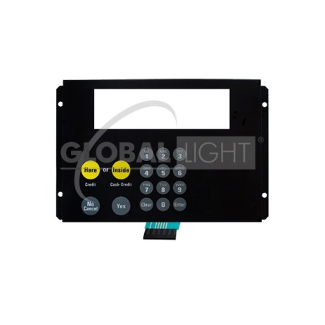 Wayne Vista®, Amoco® CAT Keypad with Metal Bracker *Without Start Button*
