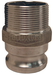 Dixon® Cam & Groove Type F Adapter x Male NPT