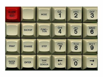 Keycaps for TLS Tank Monitor Consoles