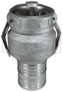 "Dixon Vapor Recovery Coupler, 4"" X 4"" w/ Floating Bridge"