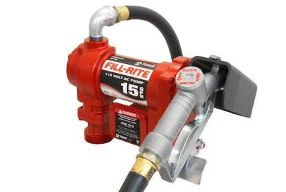 Fill Rite FR610G 115 Volt AC Pump with Hose and Manual Nozzle