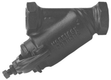 Morrison Bros 285DI Bottom Clean-Out Line Strainer - Threaded, Ductile Iron