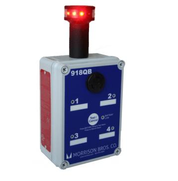 Morrison Bros 918QB Tank Alarm with Rotating Beacon
