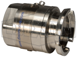 Mann Tek Dry Disconnect Steam Adapter x Female NPT