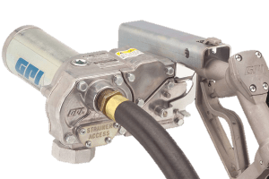 GPI® M-180S-ML High Flow Aluminum Gear Pump with Manual Leaded Nozzle