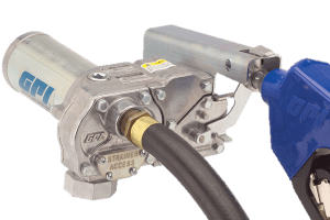 GPI® M-180S-ML High Flow Aluminum Gear Pump with Automatic Leaded Nozzle