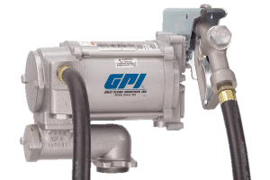 GPI® M-3120-ML 115VAC Heavy Duty Fuel Pump with Manual Nozzle