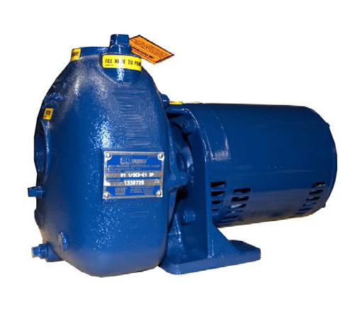 "Gorman-Rupp 81 1/2E3-X1.5 1.5"" Self Priming Explosion Proof Centrifugal Pump"