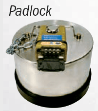 CompX Padlock Tank Commander Too High Security Lock