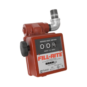 "Fill Rite 806C 3-Wheel 1"" Mechanical Gravity Meter with Strainer"