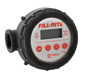 """Fill-Rite 820 1"""" Digital Display Nutating Disc Meter"""