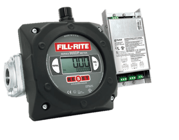 "Fill-Rite 900CDP1.5 1.5"" Digital Display Meter with Pulser Barrier"