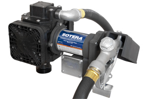 Fill Rite FR210B 24VDC Diaphragm Pump with Hose and Manual Nozzle