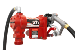 Fill Rite FR2410G 24 VDC Pump with Hose and Manual Nozzle