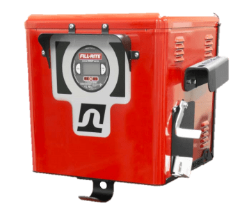 Fill Rite Cabinet Dispenser with 900DCP Meter and 300 Series Fuel Transfer Pump