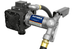 Fill Rite FR450B 115VAC Diaphragm Pump with Hose and Manual Nozzle