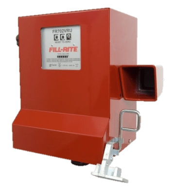 Fill Rite FR702VLRU 115 VAC Compact Cabinet Pump with Universal Nozzle Boot and Liter Register