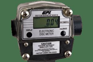 """GPI LM-300-Q6N 3/4"""" Digital Oil Meter"""