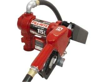 Fill Rite FR1210GA 12 Volt DC Pump with Hose and Automatic Nozzle