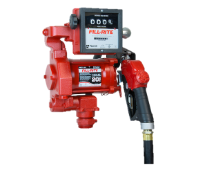 Fill Rite FR711VA 115V AC High Flow Pump with 901C Meter and Automatic Nozzle