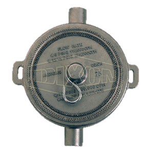 """Dixon 3"""" Stainless Steel Tank Transport Fusible Pipe Cap"""