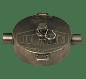 "Dixon 3"" Stainless Steel Intermodal Tank Transport Pipe Cap"