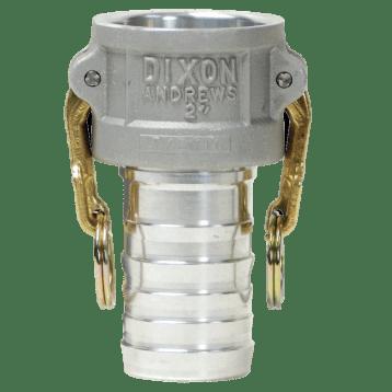 Dixon® Cam & Groove Type C Coupler x Hose Shank