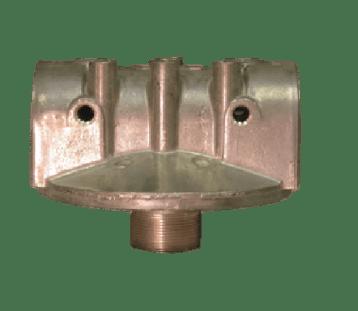 "CimTek 1.5"" Aluminum Mounting Adaptor with Gauge Ports"