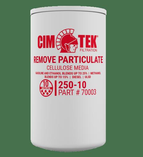 """CimTek 250-10 3/4"""" Particulate Filter"""