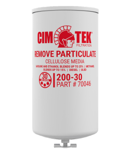 CimTek 200-30 Filter w/ Drain