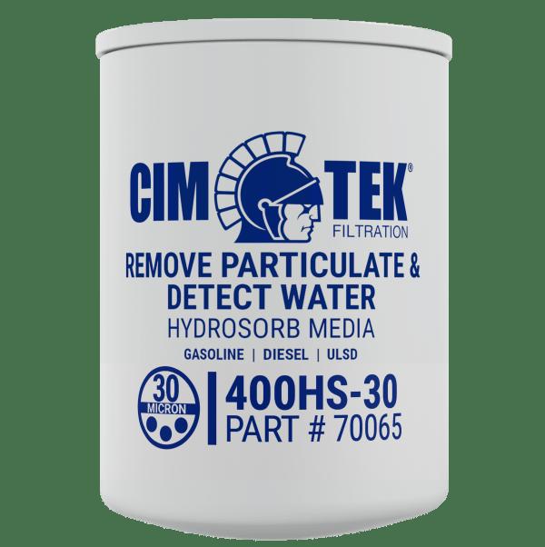 "CimTek 400HS-30 1"" Water Stop Filter"