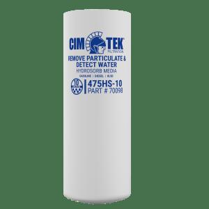CimTek 475HS-10 Extended Length Hydrosorb Filter