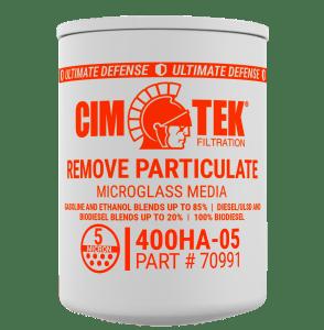 CimTek 400HA-05 1″ BioFuel Particulate Filter