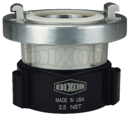 "Dixon 2.5"" NST Storz x Female Swivel Adapter"