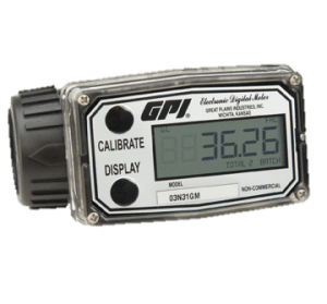 GPI 03A31GMME 03A Turbine Methanol Meter