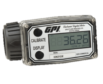 GPI 03N30GM Nylon Turbine Water Meter
