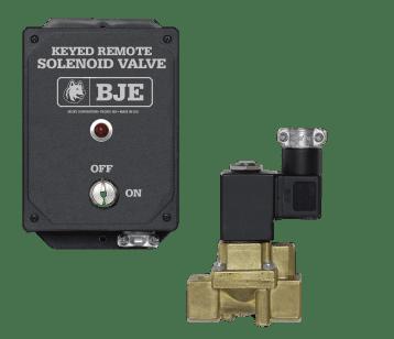 BJE Keyed Remote Solenoid Valve System