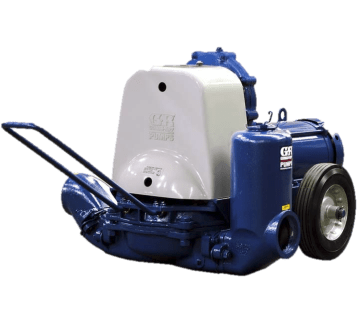 "Gorman-Rupp 4D-X3 4"" Self Priming Diaphragm Pump with Explosion Proof Motor"