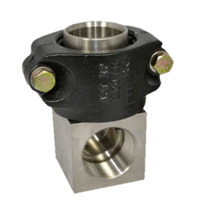 APT Clamshell Non-Swivel Elbow Fitting