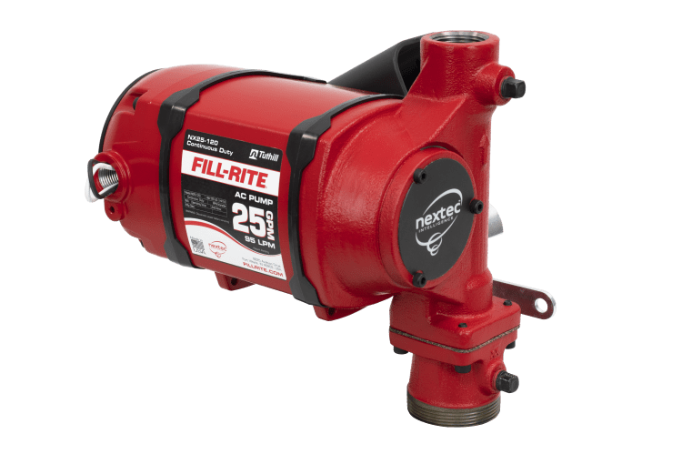 Fill Rite NX25-120NB-PX 120 VAC nextec Continuous Duty Pump Only