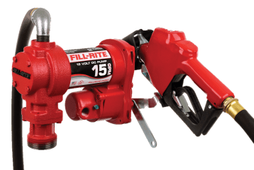 Fill Rite FR1210HA 12 Volt DC Pump with Hose and Automatic Nozzle