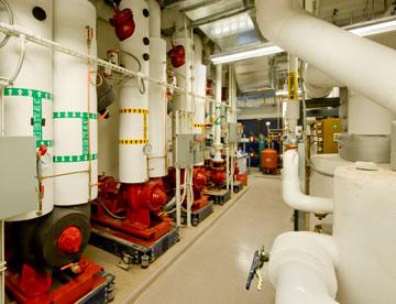 Chemical Plant Floor