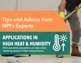 Tips for Applying Epoxy in High Temperatures