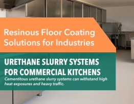 Commercial Kitchen Floors Cement Urethane Slurry