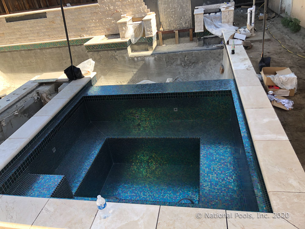 pool tile designs without hurting your