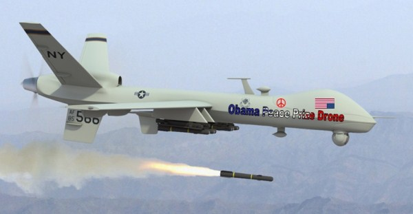 The Obama Peace Prize Death Drones Should Be Limited To Military Use Only.