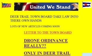 Screen Capture from Deer Trail's Website