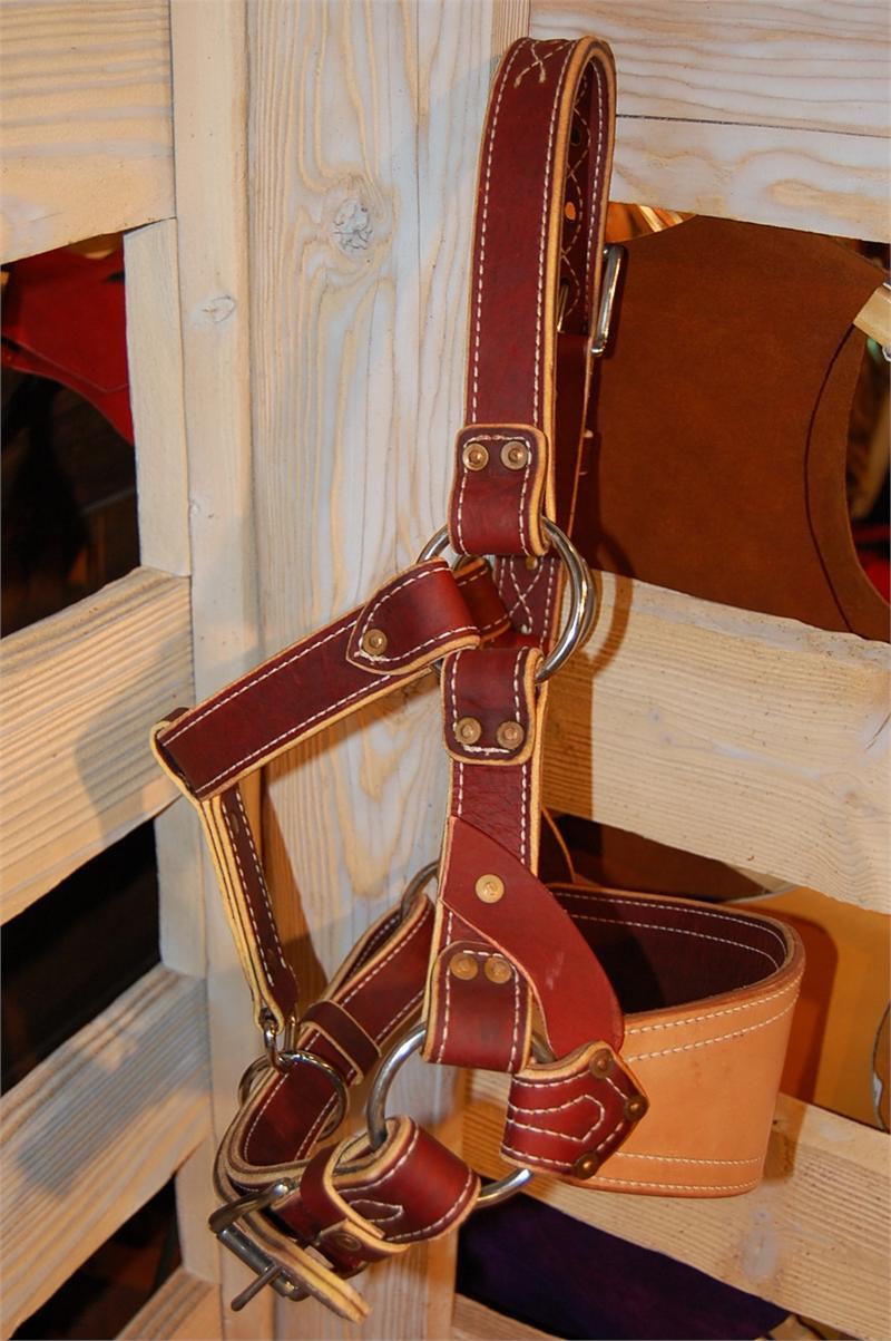 Barstow Leather Bronc Halter