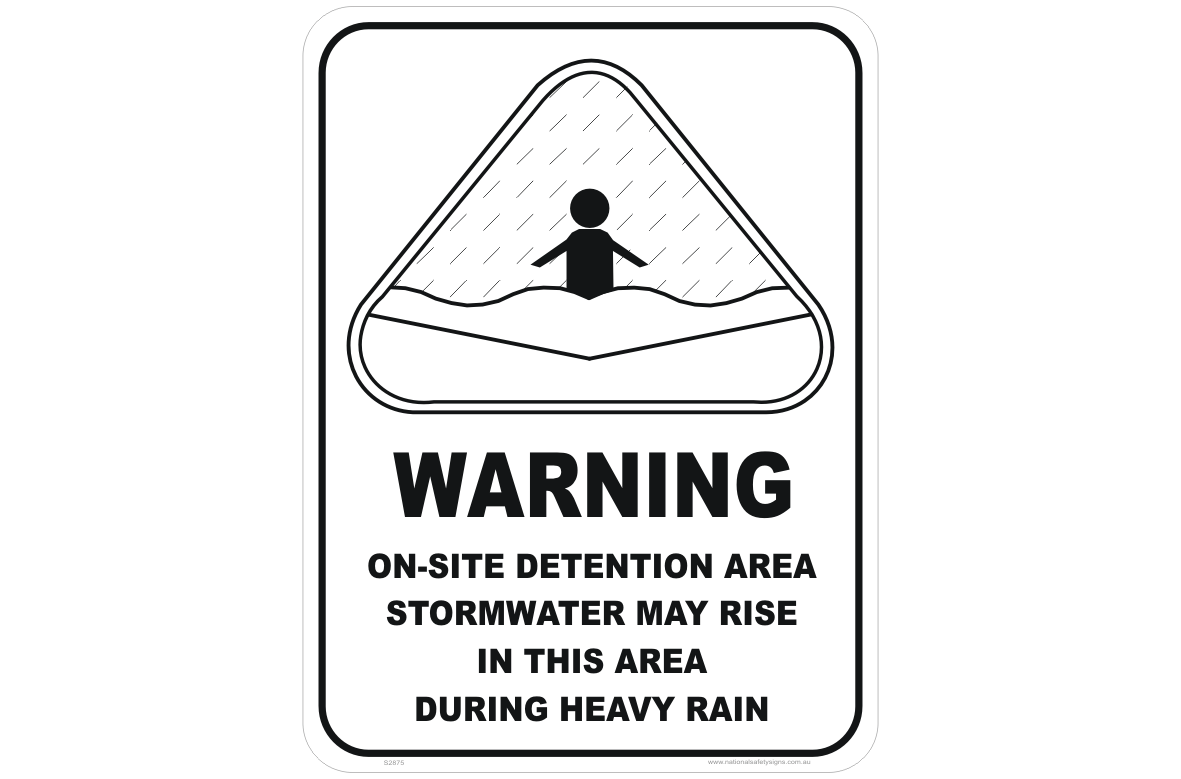 List of Synonyms and Antonyms of the Word: stormwater signs