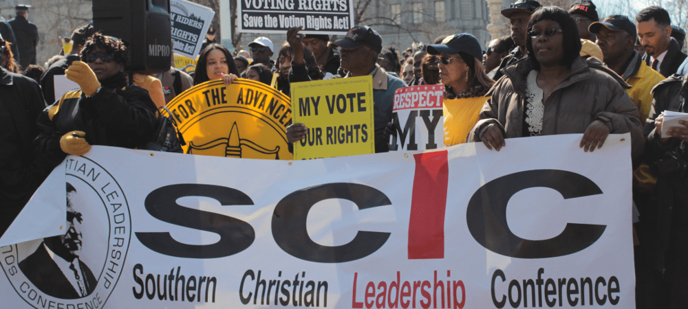 voting rights march